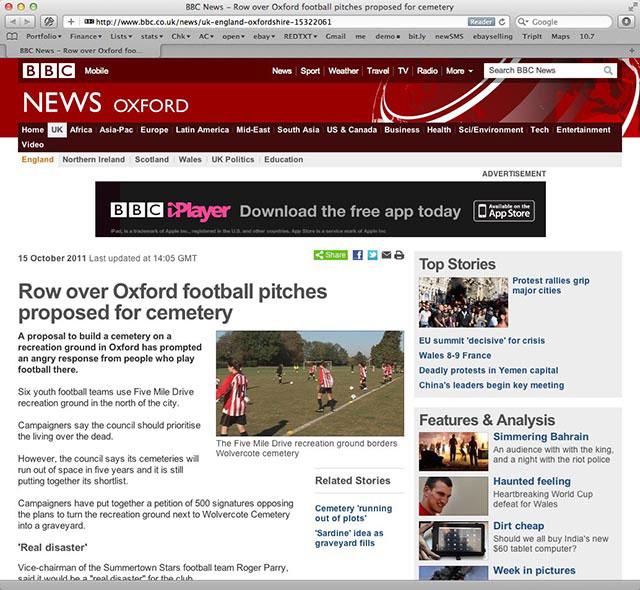 Greta's soccer club in the news - BBC