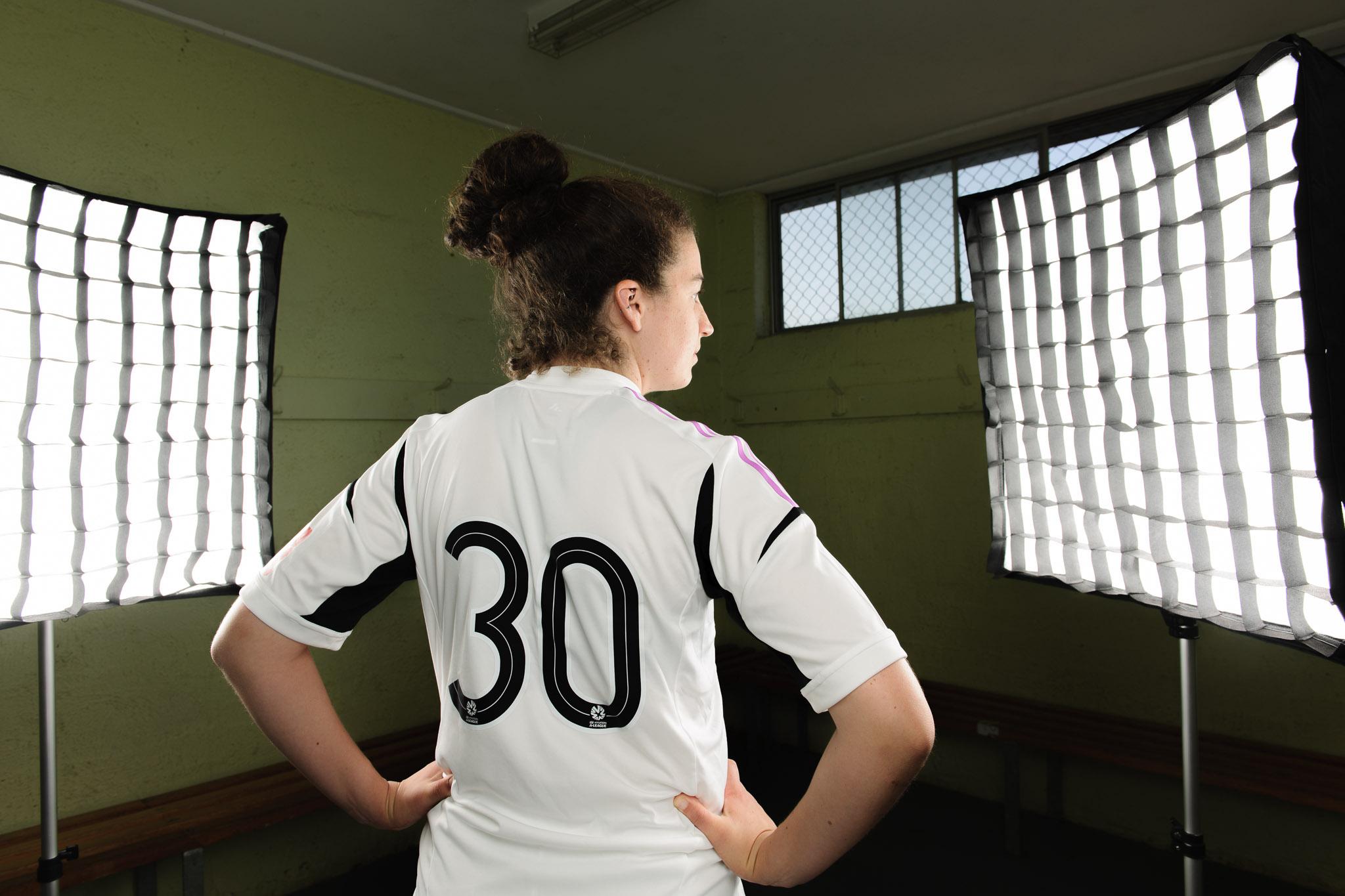 Melbourne Victory Women's Team - portrait sessions