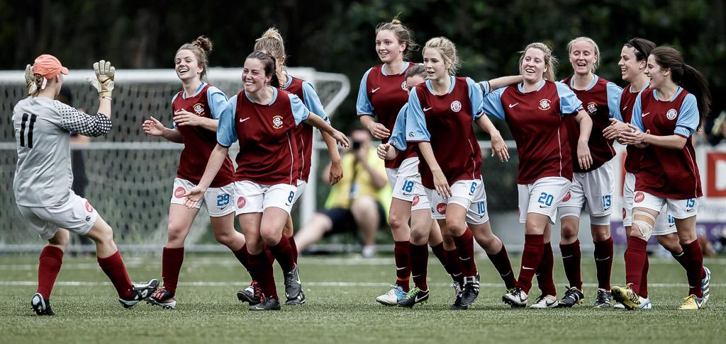 Women's semi-pro soccer grand final