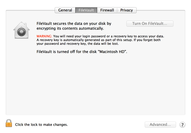 Setting up a Macbook with SSD – ensuring information privacy