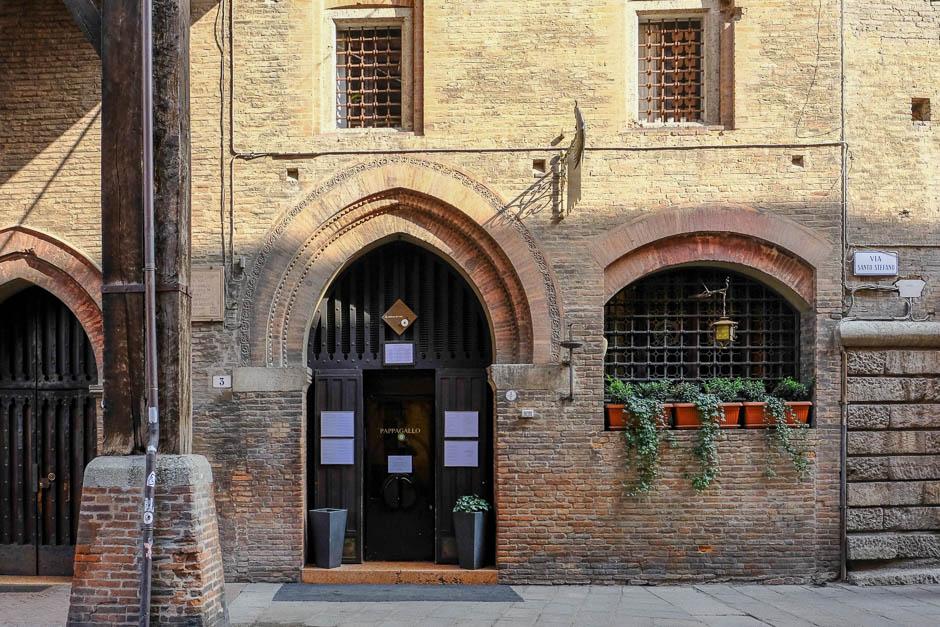 Pappagallo Restaurant in Bologna