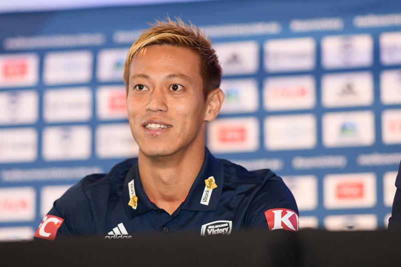 Keisuke Honda joins Melbourne Victory
