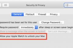 Fixing Using Apple Watch to Unlock Mac problems